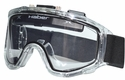 Haber Liquidator Splash Goggle with Dual Clear Lens and Eliminator Fan