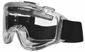 Haber Liquidator Splash Goggle with Single Clear Lens and Eliminator PLUS Fan