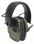 Howard Leight Impact Sport Electronic Ear Muff NRR 22, Classic OD Green