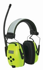 Howard Leight Sync Hi-Vis Digital Radio Ear Muff NRR 25