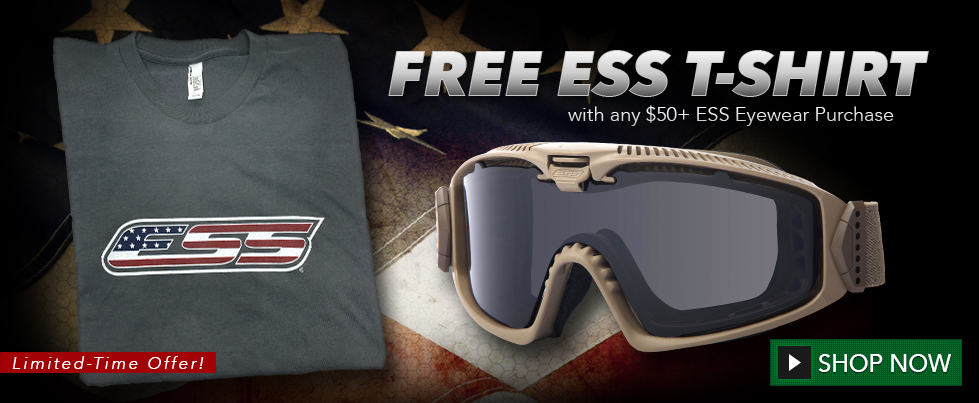 ESS Goggles and Sunglasses - Ballistic & Military Eyewear