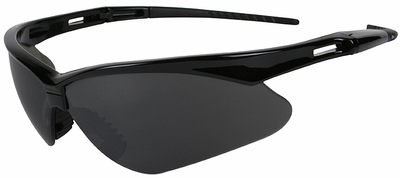 Jackson Nemesis Safety Glasses with Black Frame and Anti-Fog Smoke Lens