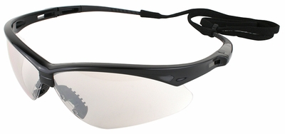 Jackson Nemesis Safety Glasses with Black Frame and Indoor-Outdoor Lens