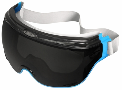 Jackson Revolution Goggle with Blue Frame and Smoke Anti-Fog Lens