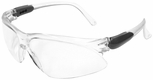 Jackson Visio Safety Glasses with Silver Temple and Clear Lens