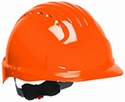 JSP 6151 Evolution Deluxe Hard Hat with 6-Point Ratchet Suspension