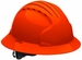 JSP 6161 Evolution Deluxe Full Brim Hard Hat with 6-Point Ratchet Suspension