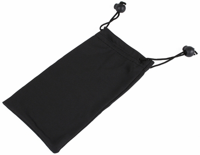 Microfiber Pouch with Stopper