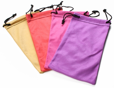 Microfiber Pouch with Swirl Pattern