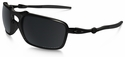 Oakley Badman with Dark Carbon Frame and Black Iridium Polarized Lens