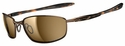 Oakley Blender Sunglasses with Brown Chrome/Tortoise Frame Bronze Polarized Lenses
