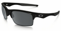 Oakley Bottle Rocket Sunglasses with Polished Black Frame and Black Iridium Polarized Lenses