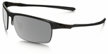 Oakley Carbon Blade Sunglasses with Matte Carbon Frame and Grey Polarized Lenses