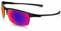 Oakley Carbon Blade Sunglasses with Polished Carbon Frame and OO Red Iridium Polarized Lenses