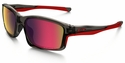 Oakley Chainlink Sunglasses with Grey Smoke Frame and OO Red Iridium Polarized Lenses