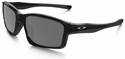 Oakley Chainlink Sunglasses with Polished Black Frame and Black Iridium Lenses