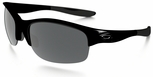 Oakley Commit Sunglasses with Polished Black Frame and Black Iridium SQ Lens