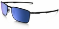 Oakley Conductor 6 with Matte Black Frame and Ice Iridium Polarized Lens