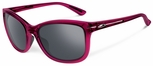 Oakley Drop In Sunglasses with Crystal Raspberry Rose Frame and Black Iridium Lenses