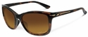 Oakley Drop In Sunglasses with Tortoise Frame and Brown Gradient Lenses