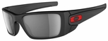 Oakley Ducati Fuel Cell Sunglasses with Matte Black Frame and Grey Polarized Lens