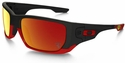Oakley Ferrari Style Switch with Matte Black Frame and Ruby Iridium Lenses