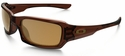 Oakley Fives Squared with Polished Root Beer and Bronze Polarized Lens
