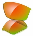 Oakley Flak Jacket Fire Iridium Replacement Lens