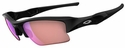 Oakley Flak Jacket XLJ Sunglasses with Polished Black Frame and G30 Polarized Lenses