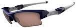 Oakley Flak Jacket XLJ Sunglasses with Polished Navy Frame and VR28 Black Iridium Lenses