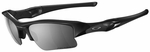 Oakley Flak Jacket XLJ Sunglasses with Jet Black Frame and Black Iridium Polarized Lens