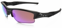 Oakley Flak Jacket XLJ with Polished Black Frame and Prizm Golf Lens