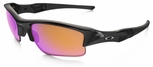Oakley Flak Jacket XLJ with Polished Black Frame and Prizm Trail Lens