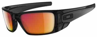Oakley Fuel Cell Sunglasses with Polished Black Ink Frame and Ruby Iridium Lens