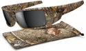 Oakley Gascan Sunglasses with King's Woodland Camo Frame and Black Iridium Lens