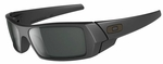 Oakley Gascan Sunglasses with Matte Black Frame and Grey Lens