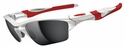 Oakley Half Jacket 2.0 XL Sunglasses with Polished White Frame and Black Iridium Lenses