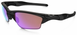 Oakley Half Jacket XL 2.0 with Polished Black Frame and Prizm Golf Lens