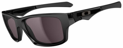 Oakley Jupiter Squared with Polished Black Frame and Warm Grey Lens