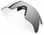 Oakley M Frame Heater Black Iridium Polarized Replacement Lens