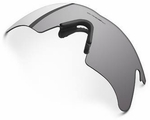 Oakley M Frame Heater Gray Replacement Lens