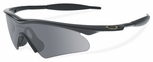 Oakley M Frame Hybrid S with Black Frame and Grey Lens