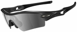 Oakley Radar Path Sunglasses with Jet Black Frame and Black Iridium Polarized Lens