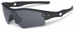 Oakley SI Radar Path with Matte Black Frame and Grey Lens