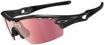 Oakley Radar Pitch Golf Specific Sunglasses with  Jet Black Frame and G30 Lens