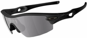 Oakley Radar Pitch Sunglasses with Matte Black Frame and Grey Lens