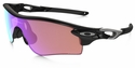 Oakley Radarlock Path with Polished Black Frame and Prizm Golf and Slate Iridium Lens