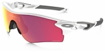 Oakley Radarlock Path with Polished White Frame and Prizm Baseball Infield/Outfield Lens