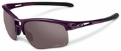Oakley RPM Edge Sunglasses with Raspberry Spritzer Frame and OO Grey Polarized Lenses
