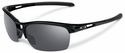 Oakley RPM Squared Sunglasses with Polished Black Frame and Black Iridium Lenses